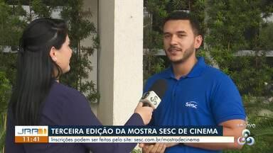 Sesc Roraima abre inscrições para a 3º Mostra de Cinema - Mostra busca valorizar as produções desenvolvidas no estado.