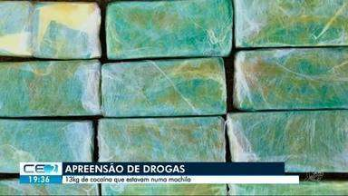PRF apreende drogas em veículo - 40 kg de cocaína estavam escondidos no tanque de combustível.