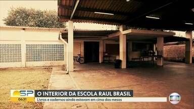 Escola alvo de massacre em Suzano reabre nesta segunda para professores e funcionários - Dois Ex-alunos atiraram e mataram 5 alunos e duas funcionárias da escola na última quarta.