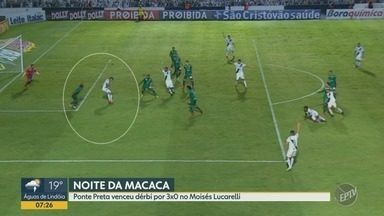 Dérbi de Campinas: Ponte Preta vence o rival Guarani em casa - Confira como foi o jogo entre as duas principais equipes de Campinas.