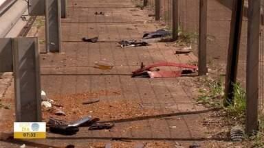 Motorista alcoolizado mata mulher na Rodovia Raposo Tavares - Outro acidente com morte também foi registrado no fim de semana.