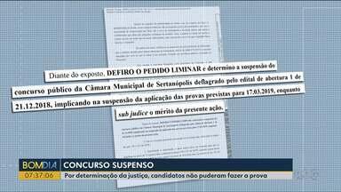 Ministério Público pede cancelamento de concurso por suspeita de irregularidades - O concurso público da Câmara de Sertanópolis tinha vagas para advogados, assistente administrativo, contador, etc.
