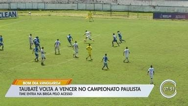 Taubaté vence o Nacional de virada e entra no G8 da Série A2 - Caio Mancha, com três gols na partida, foi o grande nome do jogo. Danilo Negueba marcou o gol do Nacional.
