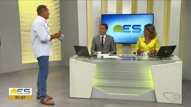 Comentarista do ES traz os destaques do esporte nesta segunda-feira (18) - Veja as principais notícias com o goleiro Paulo Sérgio.