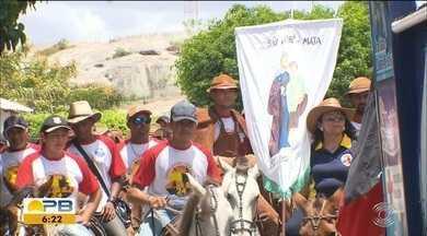 Cavalgada em homenagem a São José aconteceu em Puxinanã,PB - Segundo a tradição, São José é o santo que traz a esperança das chuvas e de um inverno bom para os agricultores.