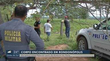 Corpo é encontrado em fazenda, perto da rodovia do Peixe em Rondonópolis - Corpo é encontrado em fazenda, perto da rodovia do Peixe em Rondonópolis