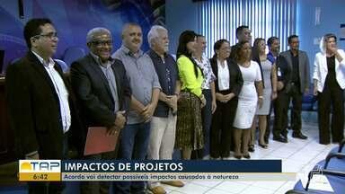 Acordo entre OAB, órgãos ambientais e a Ufopa identificará áreas degradadas na região - Parceria foi firmada na sede da Ordem dos Advogados do Brasil, em Santarém.