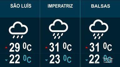 Confira as variações do tempo nesta segunda-feira (18) no Maranhão - Veja como deve ficar o tempo e a temperatura em São Luís e no Maranhão.