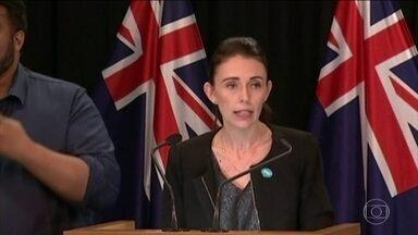 Governo da Nova Zelândia estuda nova legislação para posse de armas no país - Cerca de 50 pessoas morreram em ataque terrorista a duas mesquitas.