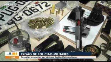 Operação prende PMs integrantes de grupos criminosos na região metropolitana de Belém - Os suspeitos seriam responsáveis por praticar crimes em série, com atuações principalmente em Marituba e Ananindeua.