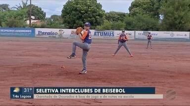 Fim de semana de etapa estadual de beisebol, em Dourados - Fim de semana de etapa estadual de beisebol, em Dourados.