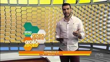 Anápolis Vôlei vence São José no primeiro jogo das quartas de Superliga B - Equipe goiana sai atrás, mas vira e ganha por 3 sets a 1 fora de casa
