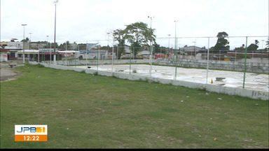 Calendário JPB 1 mostra situação de praça em Santa Rita - Diretor de obras da prefeitura conversou com a equipe do JPB 1.