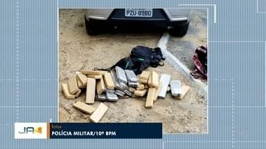 Polícia Militar apreende mais de 40 quilos de maconha em Blumenau - Polícia Militar apreende mais de 40 quilos de maconha em Blumenau