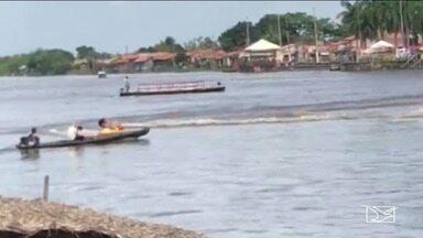 Acidente com moto aquática deixa pessoa ferida em Pindaré-Mirim - Vítima teve um corte profundo em uma das pernas. Ela foi encaminhada para um hospital da região e foi liberada horas depois para seguir a recuperação em casa.