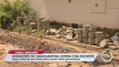 Equipes fazem operação de limpeza dos estragos causados pela chuva em Caraguá - Confira as informações no link.