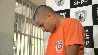 Suspeito de assassinar taxista em São Luís é preso em Araguanã - Preso confessou o crime e disse que teve a ajuda de um comparsa, que agora é procurado pela polícia.