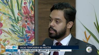 Advogado explica direitos e deveres na contratação temporária - De acordo com a Associação Brasileiro da Indústria de Chocolates, cerca de 18 mil vagas devem ser geradas neste período