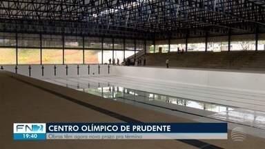 Prefeitura define novo prazo para entrega do Centro Olímpico - Obras em Presidente Prudente começaram no ano de 2011.