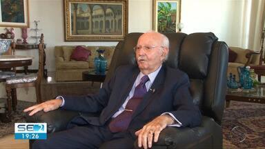 Ex-presidente do Tribunal de Justiça de Sergipe, Pascoal Nabuco, morre aos 81 anos - De acordo com familiares, o desembargador aposentado morreu por complicações provocadas por problemas respiratórios.