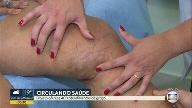 Sociedade Brasileira de Angiologia lança projeto Circulando Saúde - Objetivo é alertar para a importância da prevenção das doenças vasculares.