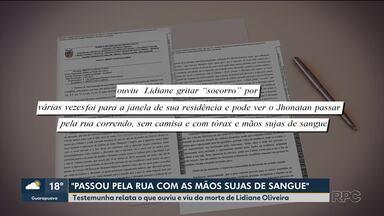 RPC tem acesso ao depoimento de testemunha sobre morte de estudante de Direito - O crime foi dia 10 de março, em Ponta Grossa.