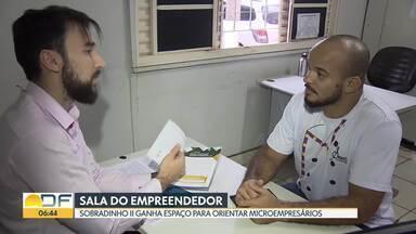 Sobradinho II ganha sala do Empreendedor - Moradores que querem abrir um negócio próprio podem procurar o espaço do Sebrae para conseguir informações e formalizar a empresa.
