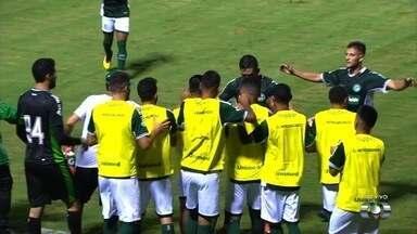 Os gols de Goiás 2x1 Iporá pelo Campeonato Goiano - Brandão e Barcia marcam para o Verdão; Rodrigo Milanez desconta