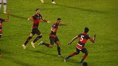 Os gols da vitória do Atlético-GO sobre o Crac - Dragão bate o Leão do Sul por 2 a 1, de virada
