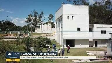 Inea não detecta despejo alumínio em estação na Lagoa de Juturnaíba - Estação de tratamento opera conforme licenciamento concedido.
