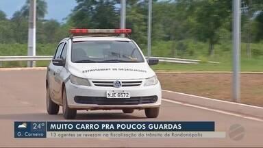 Rondonópolis tem poucos agentes de trânsito para atuar na fiscalização - Rondonópolis tem poucos agentes de trânsito para atuar na fiscalização