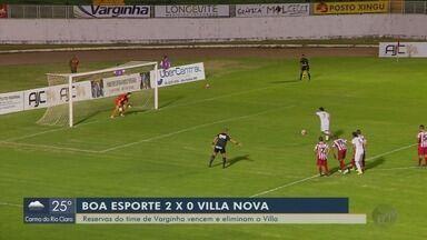 Boa Esporte bate o Villa Nova e vai enfrentar o Tombense nas quartas de final - Boa Esporte bate o Villa Nova e vai enfrentar o Tombense nas quartas de final