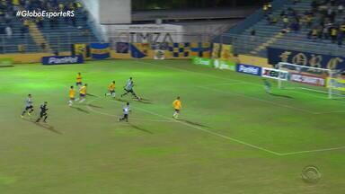 Juventude faz sua parte, vence o Avenida e está nas quartas de final do Gauchão - Assista ao vídeo.