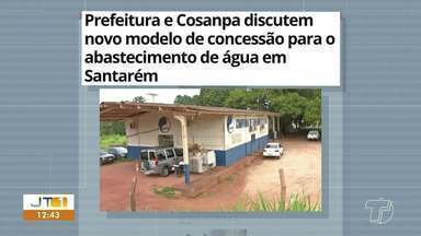 Novo modelo de concessão para abastecimento de água é destaque no G1 Santarém e Região - Veja essas e outras notícias do G1 Santarém e Região pelo celular, tablet e computador.