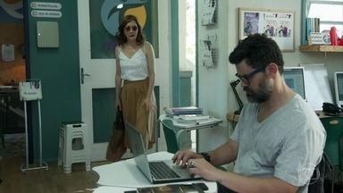 Gabriela e Rafael pensam nas reação dos filhos se eles reatarem - Os dois conversam sobre a possibilidade de voltarem a ter um relacionamento