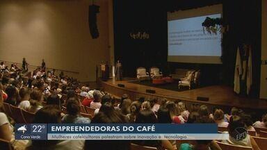 Mulheres cafeicultoras palestram sobre inovação e tecnologia em Santa Rita do Sapucaí (MG) - Mulheres cafeicultoras palestram sobre inovação e tecnologia em Santa Rita do Sapucaí (MG)