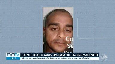 Identificado o corpo de mais um baiano vítima da tragédia em Brumadinho - O corpo foi velado e enterrado em Minas Gerais.
