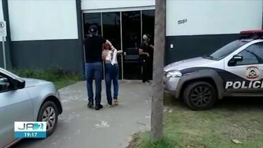 Suspeitos de assaltar unidade de saúde em Araguaína são presos pela Polícia Civil - Suspeitos de assaltar unidade de saúde em Araguaína são presos pela Polícia Civil