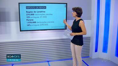 Na região de Londrina, 15% das declarações de imposto de renda já foram entregues - Já se passaram duas semanas do início do prazo, que vai até 30 de abril