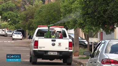 90 novos casos de dengue em Londrina - A cidade agora soma 448 casos confirmados da doença