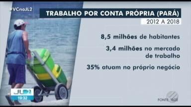 IBGE aponta que 35% dos trabalhadores paraeneses trabalham por conta própria - Jornal Liberal