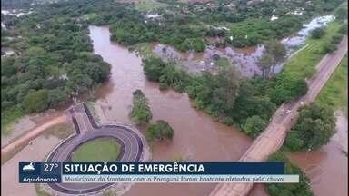 Chuvas de março - Dois municípios decretam situação de emergência em MS.