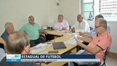 Estadual de futebol - Mudanças nos jogos da próxima fase.