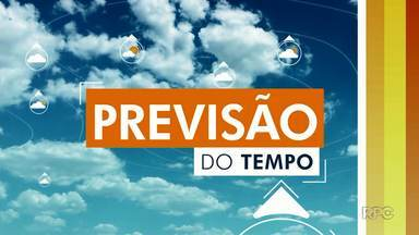Previsão é de tempo aberto durante o fim de semana em Londrina - A temperatura máxima chega a 29º.