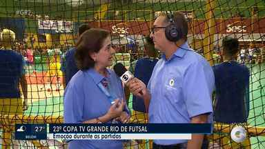 A categoria de Base abriu essa 20ª Edição da Copa TV Grande Rio de Futsal - A Copa TV Grande Rio de Futsal é um dos maiores eventos esportivos do interior do Nordeste.