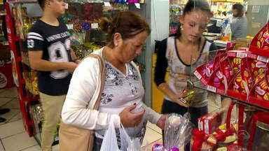 Empresários do RS esperam grande movimento nas vendas para a Páscoa - Em média, cada cliente deve gastar cerca de R$ 206,00 em compras.
