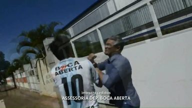 Boca Aberta e vereador de Londrina brigam no meio da rua - Confusão entre Boca Aberta (PROS) e Amauri Cardoso (PSDB) aconteceu na manhã deste sábado.