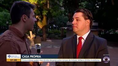 Consumidores podem tirar dúvidas de graça em Porto Alegre sobre compra de imóveis - Especialista dá dicas de como se planejar e garantir as melhores taxas para financiamentos.
