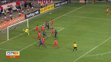 Pela Copa do Nordeste, Salgueiro perde de 3 X 0 para o Bahia - O Carcara do Sertão sofre derrota na Arena Fonte Nova, em Salvador.