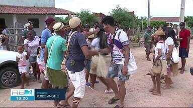 Índios protestam na cidade de Itacuruba - Motivo é a construção de uma usina nuclear